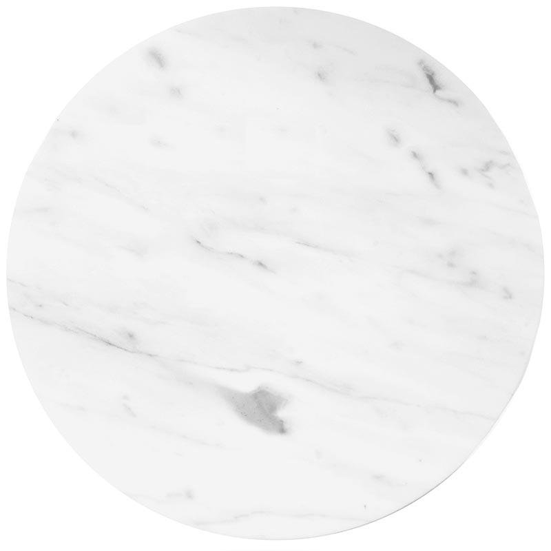 Carrara Marble Round Board